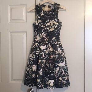 H&M Floral Watercolor Party dress size 2